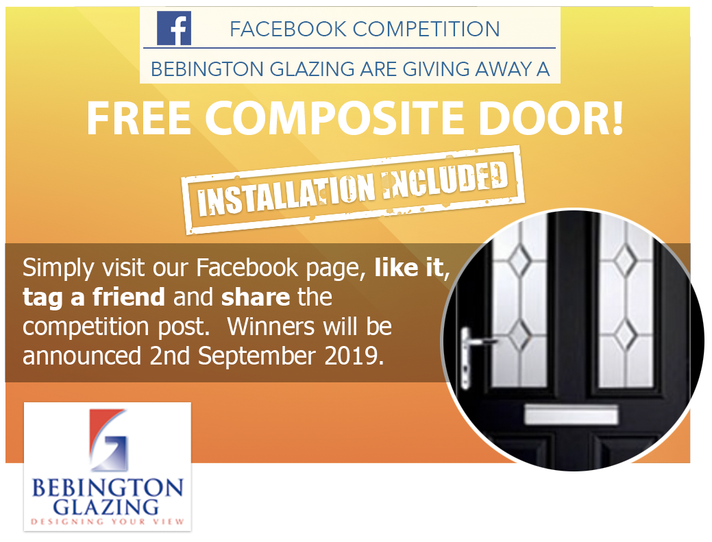 Win a composite door with Bebington Glazing